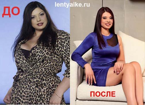 Инна Воловичева, фото ДО и ПОСЛЕ похудения
