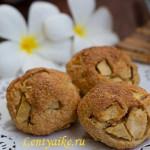 Диетическое овсяное печенье с яблоками, рецепт