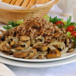 Несколько низкокалорийных вторых блюд