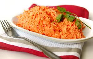 Салатик из морковки для диеты