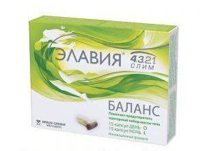 Препарат Элавия для похудения и снижения веса