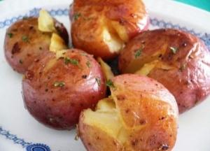 Диетическая картошка в мундире